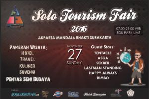 Solo Tourism Fair By AKPARTA Mandala Bhakti)